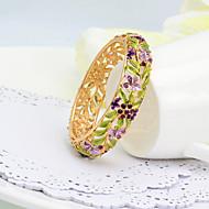 WesternRain Wedding Women's Cuff Bracelet Alloy Rhinestone