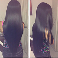 Cabelo 20inch rendas frente perucas cabelo liso mongol cabelo de seda Remy perucas mulheres celebridade estilo perucas