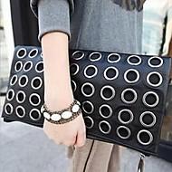 Žene PU Zabave Clutch torbica Crna