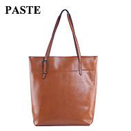 Paste® Fashion Classic Style Genuine Leather Tote Bag