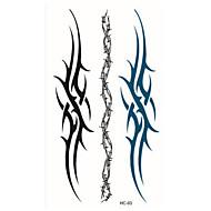 (1ks) móda totem dočasné tetování samolepky dočasné zdobení těla vodotěsný tetování vzor hc93
