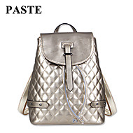 Paste® Hot Selling Quilted  Embossing Women Genuine Leather Backpack