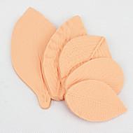 5 pcs Flower-Making GumPaste Peony Rose Floral Petal Leaf Veiner Silicone Molds Cake Decorating Tools Color Randomly