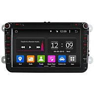 8 Inch Quad Core In-Dash Car DVD Player for 2 Din Volkswagen Android 4.4 VW Golf Polo Jetta Touran GPS Radio