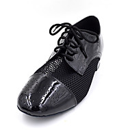 Non Customizable Men's / Kids' Dance Shoes Patent Leather Patent Leather Flamenco Oxfords Low HeelPractice / Beginner / Professional /