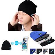 Warm Beanie Hat Wireless Bluetooth Smart Cap Headphone Headset Speaker Mic For IPhone Sumsung  Cellphone