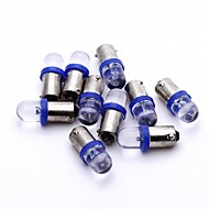 10 x Car 1156 BA9S Blue LED Bulb Turn Signal Parking Backup Light Lamp 12V