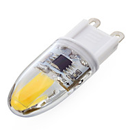 YWXLight® 1 Pcs Dimmable G9 6W 2*COB 500-700 LM Warm White / Cool White T Dimmable Bi-pin Lights AC 220-240 V