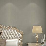 New Rainbow™Floral Wallpaper Contemporary Wall Covering , PVC/Vinyl Deep Embossed Wallpaper