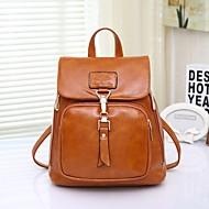 Women's Fashion Vintage PU Leather Backpack