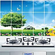 kuchyně oleji odolné samolepky ochranu, hliník