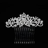Vintage Charming Design Wedding Bride  Starfish Headband Cown Crystal Silver Hair Accessior Mermaid