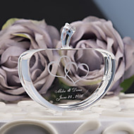 Personalized  Crystal Apple Decoration