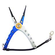 pinces de pêche angle de la mâchoire en acier tungstène aviation en aluminium avec sac et corde