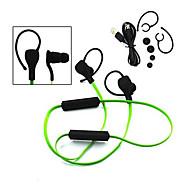 ruido deporte estéreo con cancelación de micrófono del auricular del canal auricular bluetooth inalámbrico en el oído para el iphone