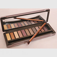 1Pcs The 2 Generation Of Genuine Original 12 Color Eyeshadow Eyeshadow Nude Make-up Earth Color Matte Pearl Color