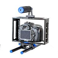 yelangu® hordozható univerzális dslr fényképezőgép ketrec / BMCC ketrec felső fogantyúval 5D3 5d2 7d