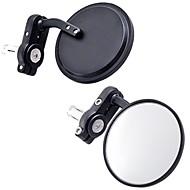 2 stuks zwarte motorfiets bar end spiegels stuur glas spiegel voor alle suzuki honda yamaha kawasaki
