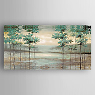 Oil Painting Abstract Landscape  Hand Painted Canvas with Stretched Framed Ready to Hang
