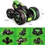 6-Channel Five Tires Remote Control 360° Rotation Stunt Car Toy