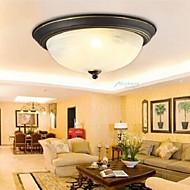 צמודי תקרה ,  מסורתי/ קלאסי וינטאג' גס Electroplated מאפיין for LED מתכת חדר שינה מטבח חדר עבודה / משרד מסדרון