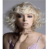 New Product  Women Lady Blonde  Charming Short  Syntheic  Wig