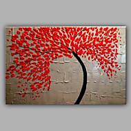 Knife Tree Painting By Handmade