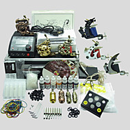 6 Machines BaseKey Tattoo Kit K604 Machine With Power Supply Grips Cups Needles(Ink not included)