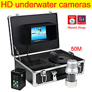 Fish Finder     360°Panning Camera, Wide Viewing Angle Underwater Fishing Camera  DVR Function Free 4GB SD Card