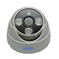 """seehoo® pd2139-4 1/4 """"CMOS 900tvl 3.6mm 3pcs pal llevaron la cámara del cctv cúpula usada en interiores"""