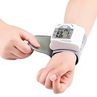 תצוגת ck®ome אוטומטית שורש כף יד דיגיטלית לחץ דם שרוול שורש כף יד צג LCD מד לחץ דם דופק מטר
