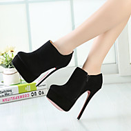 Women's Shoes 16CM Heel Height Sexy Round Toe Stiletto Heel Pumps Party Shoes More Colors available