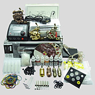 3 Machines BaseKey Tattoo Kit K307 Machine With Power Supply Grips Cups Needles(Ink not included)