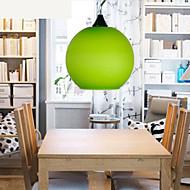 25*21CM Simple Fashion Color Glass Chandelier Light Lamp LED