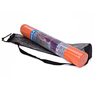PVC Yoga Mats 173*61*0.4 Non Slip / Sticky / Eco Friendly / Non Toxic / Waterproof (1/6 inch) 4 mm Orange / Purple / Blue Mesuca