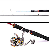 YALUXING Tele Pole 210cm M Sea Fishing FRP / EVA Rod