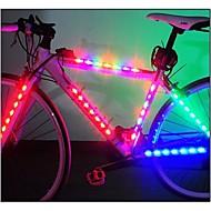 Luzes de Bicicleta luzes de segurança luzes da roda LED - Ciclismo Fácil de Transportar AAA Lumens Bateria Ciclismo