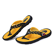 Men's Shoes Outdoor / Casual Synthetic Slippers / Flip-Flops Black / Blue / Yellow / Green