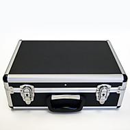 basekey tatuaje negro caja de aluminio grande con l01 uñas