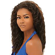 Women Brazilian Virgin Hair Color(#1 #1B #2 #4) Curly Hair Lace Front Wigs