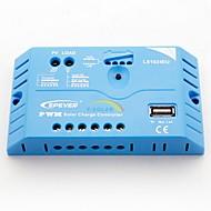 epsolar 10a PWM controlador de carga solar regulador de bateria 12v / 24v auto com usb