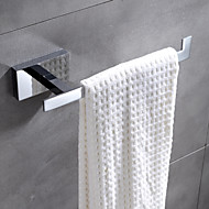 HPB® Contemporary Chrome Finish Brass Wall Mounted Towel Rack