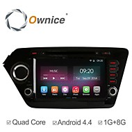 8 Inch 2 Din In-Dash Car DVD Player For kia k2 Rio 2011-2012 with Quad Core Pure Android 4.4.2 GPS Navigation Radio