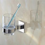 Držák na zubní kartáček Zrcadlově leštěné Na ze´d 11.6*11.6*9.4cm(4.57*4.57*3.70inch) Nerez Moderní