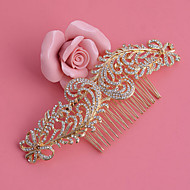Women's Rhinestone / Alloy Headpiece - Wedding / Special Occasion / Office & Career Hair Combs 1 Piece
