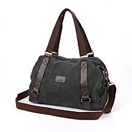 Men Women Vintage Canvas Messenger Bag Travel Military Handbag Shoulder Book Bag