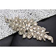 Alloy Wedding / Party/ Evening / Dailywear Sash-Sequins / Beading / Crystal / Rhinestone Women's Sequins / Beading / Crystal / Rhinestone