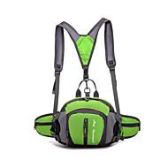 10-20 L Waterproof Csomag derékra hátizsák Futó Kempingezés és túrázás Szabadidős sport Kerékpározás/KerékpárHordozható Viselhető
