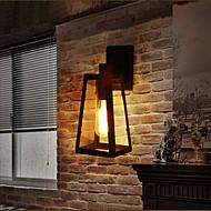 Black Wrought Iron Wall Light Retro Econce Fixturedison Lamp Corridor Wall s Lighting Vintage Wall Lamp Industrial