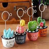 Cute Scene Photos Clip / Plant Simulation Notes Folder / Message Clip Name Card Clip (Random Style)